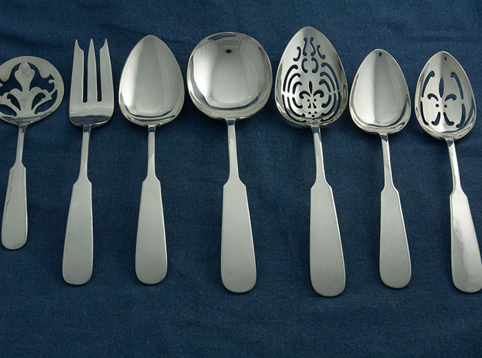 Erickson Silver Serving Pieces